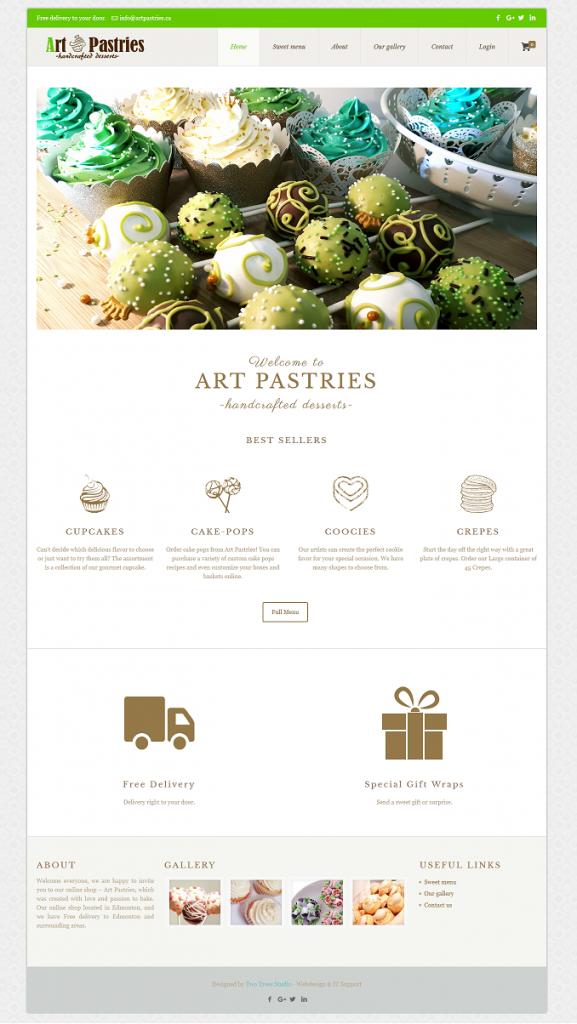 Art Pastries